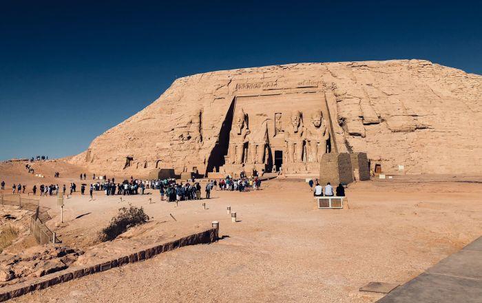 Monument Abú Simbel (Egypt)