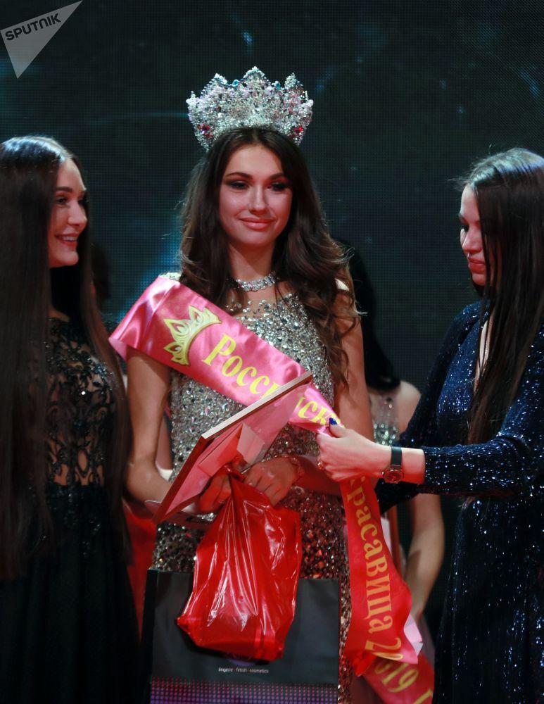 Alina Rudakovová – vítězka soutěže Ruská krása 2019