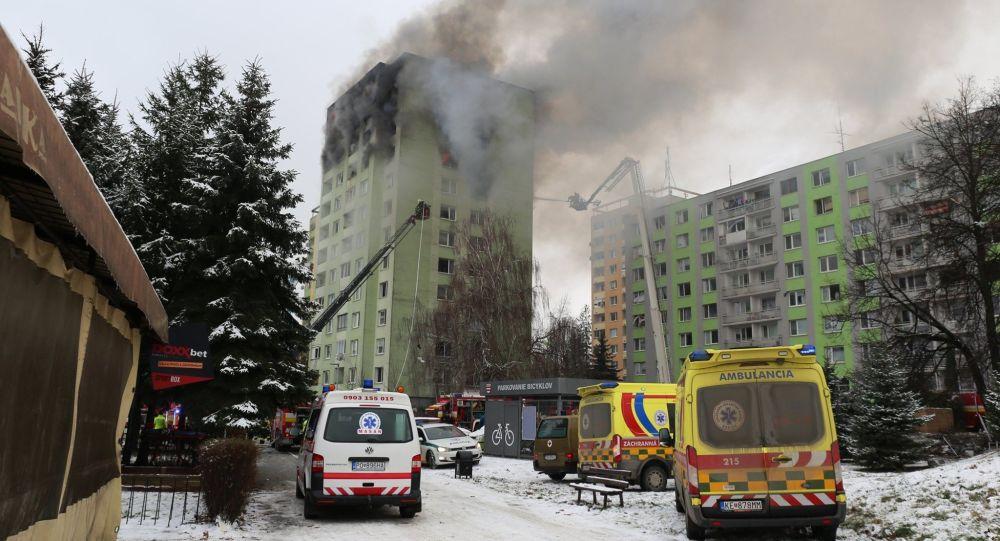 Následky včerejšího požáru v Prešově hasiči již zlikvidovali. Počet obětí vzrostl