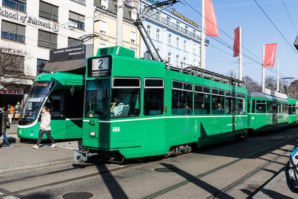 Tramvaj v Basileji, Švýcarsko