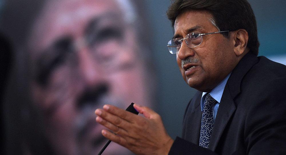 Bývalý pákistánský prezident Parvíz Mušaraf