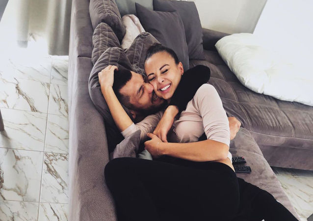 Monika Bagárová se svým přítelem Machmudem Muradovem
