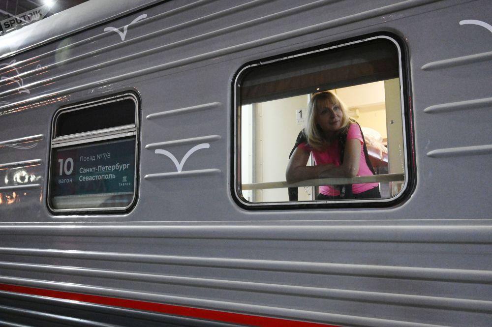 Cestující vlaku Tavria