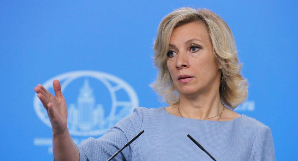 Tisková mluvčí ruského ministerstva zahraničních věcí Maria Zacharovová