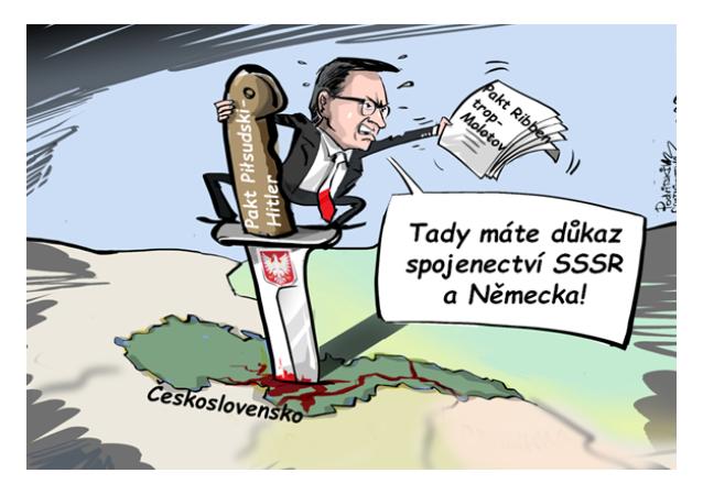 Polský premiér by si měl zopakovat dějepis