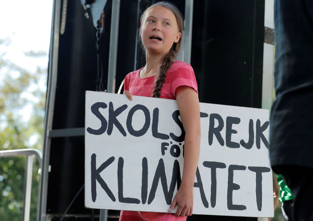 Environmentální aktivistka Greta Tunbergová
