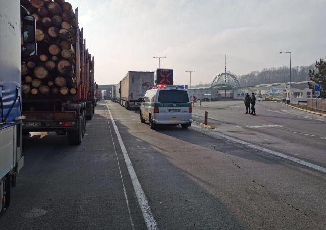 Stávka autodopravcu na Slovensku