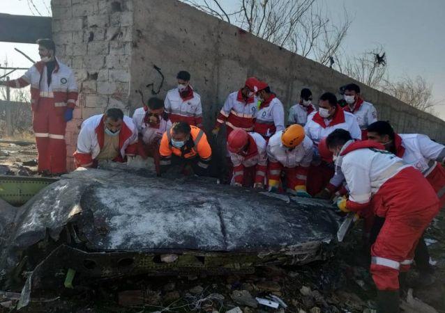 Havárie ukrajinského Boeingu 737-800 v Teheránu