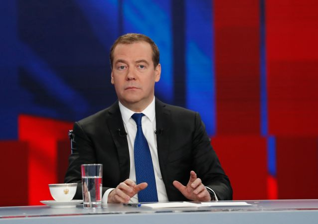 Bývalý ruský premiér Dmitrij Medveděv