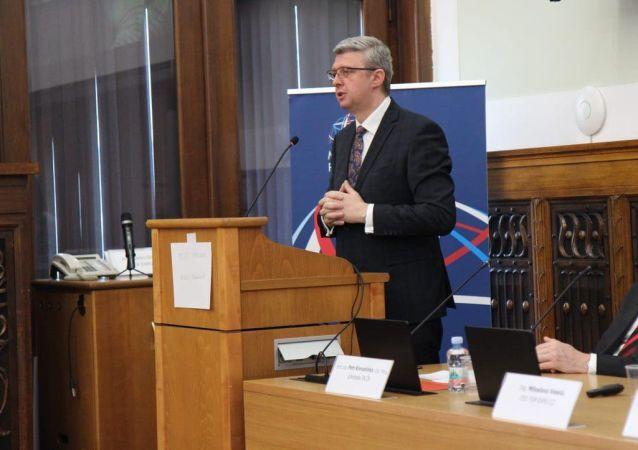 Český ministr průmyslu a obchodu Karel Havlíček