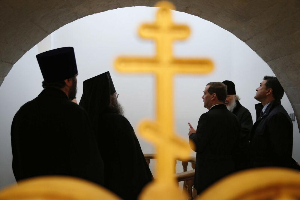 7. listopadu 2014 – Předseda vlády navštívil Novojeruzalémský klášter