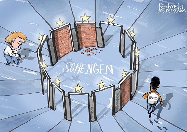 Schengen zavírá dveře