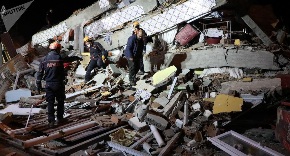 Silné zemětřesení v Turecku