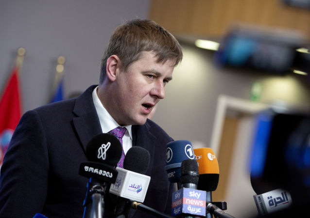Ministr zahraničních věcí Tomáš Petříček