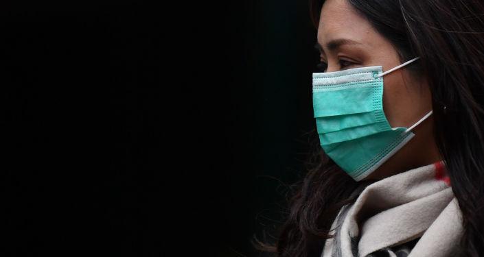 Lékařská maska. Ilustrační foto