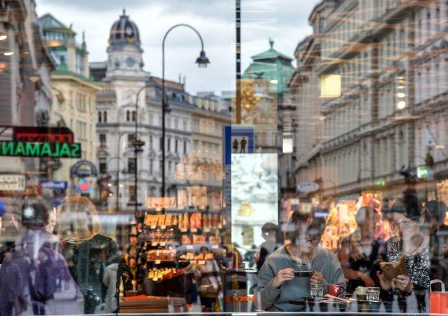Hlavní ulice Grabben ve Vídni
