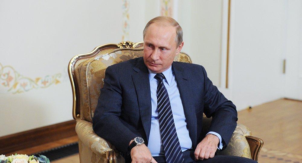 Президент РФ В.Путин встретился с президентом Армении С.Саргсяном
