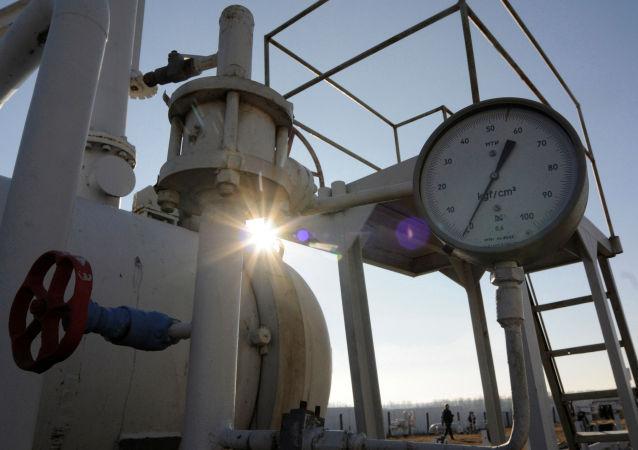 Skladiště plynu u Kyjeva