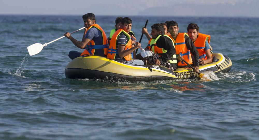 Uprchlíci u břehů Řecka