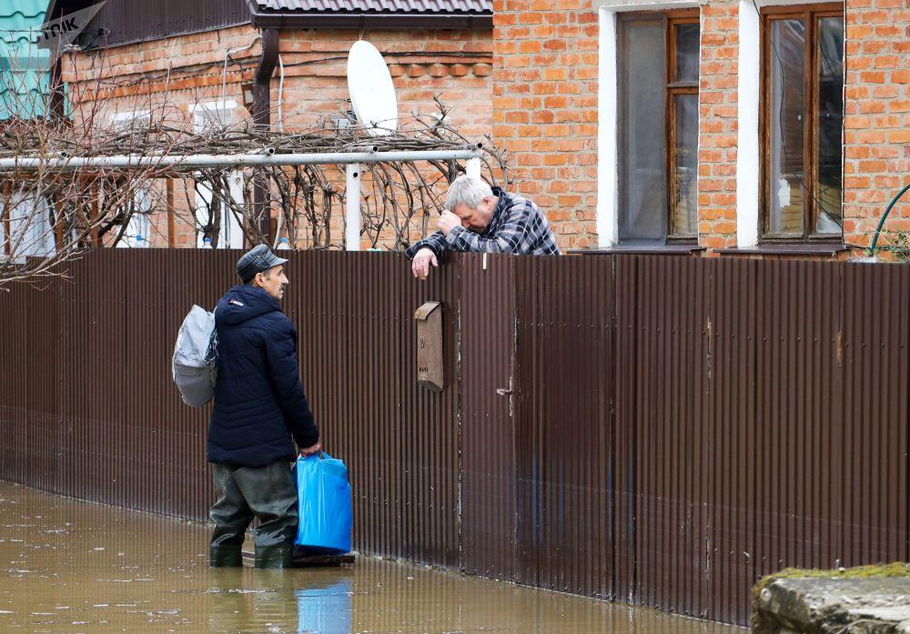 Obyvatelé města Gorjačij Ključ Krasnodarského kraje