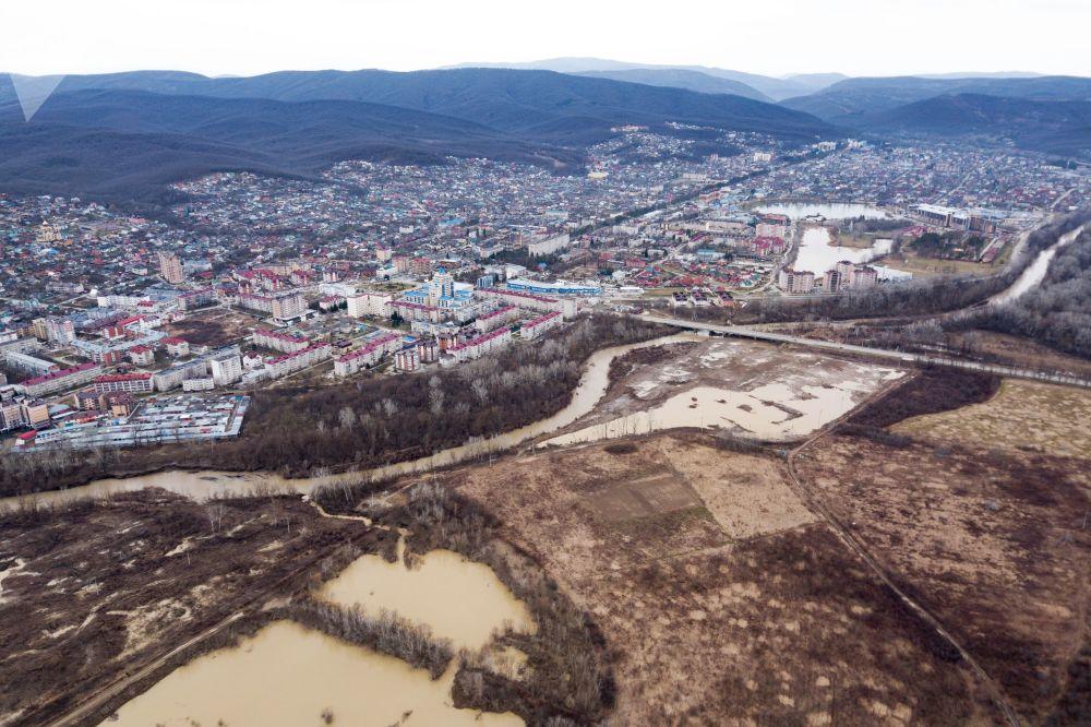 Město Gorjačij Ključ Krasnodarského kraje