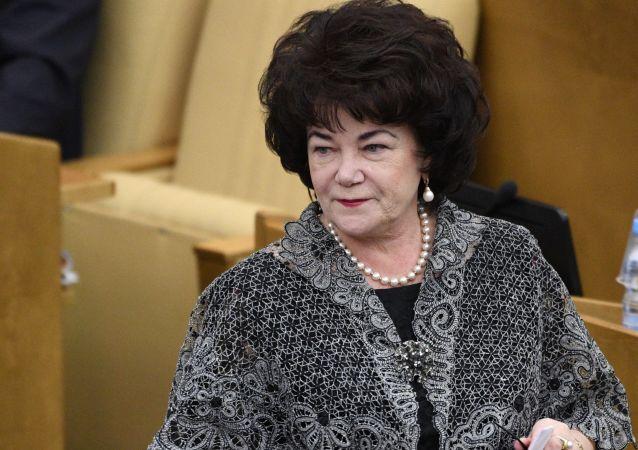 Předsedkyně Výboru Státní dumy pro otázky rodiny, žen a dětí Tamara Pletňovová