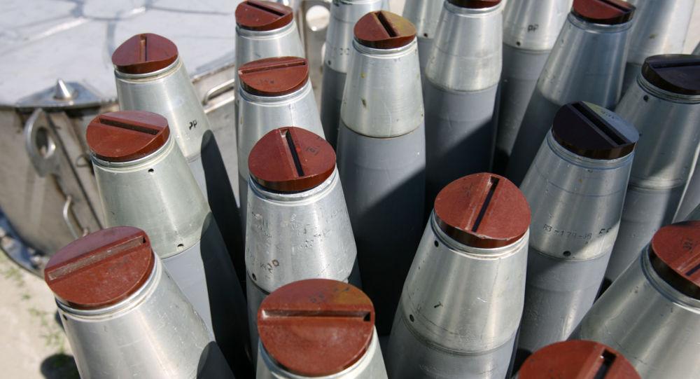 Chemické zbraně. Ilustrační foto