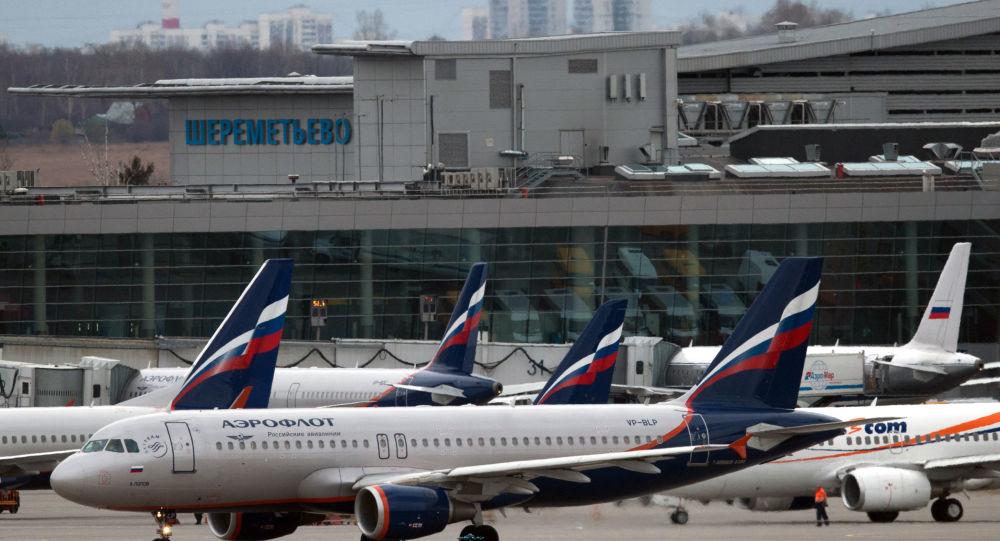 Letišti Šeremetěvo v Moskvě
