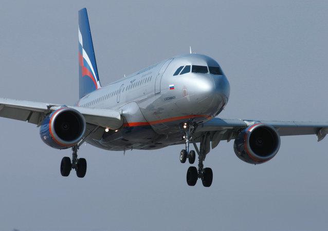 Airbus A320 společnosti Aeroflot