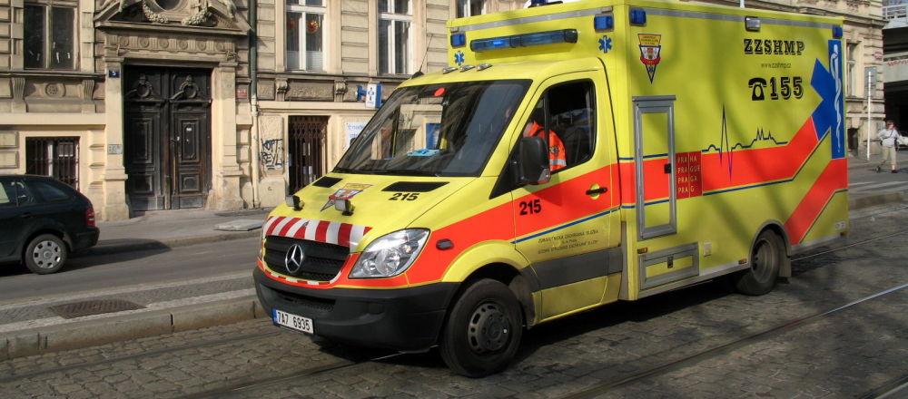 Ambulance v Praze