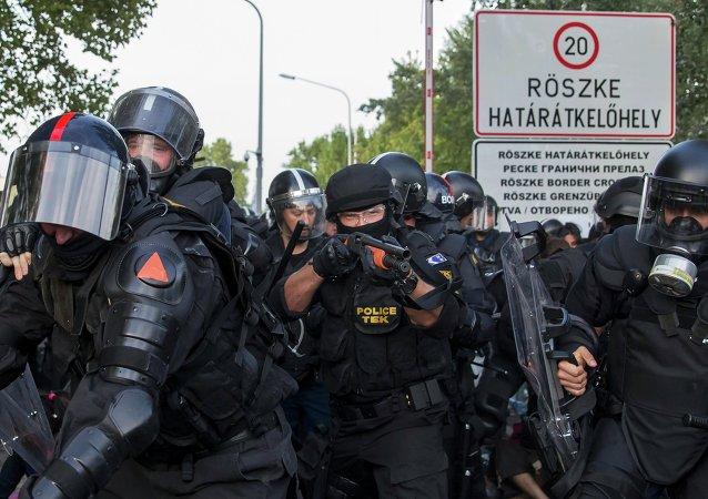Maďarská policie
