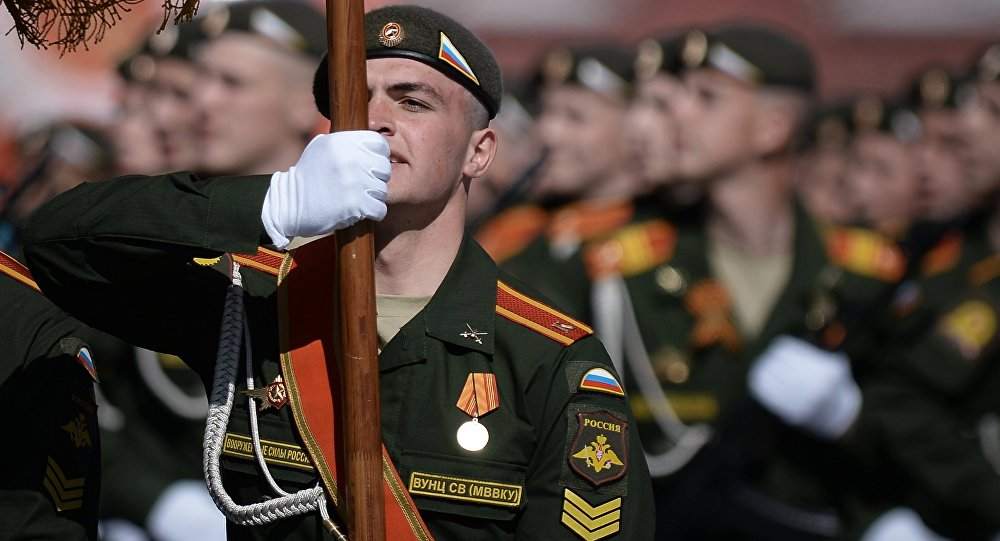 Přehlídka Vítězství v Moskvě 9. května