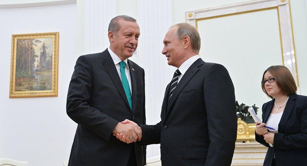 Recep Tayyip Erdoğan a Vladimir Putin