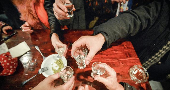 Večírek s alkoholem