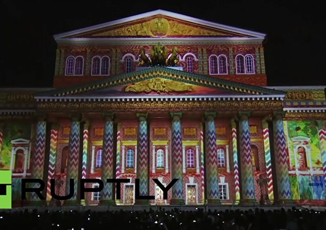 V Moskvě startovala ohromující světelná show