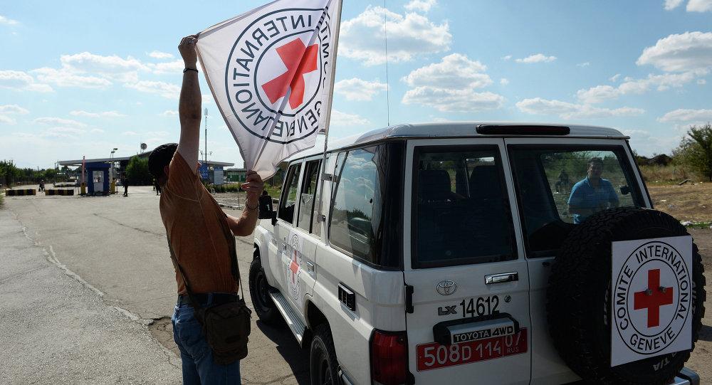 Vůz Mezinárodního červeného kříže