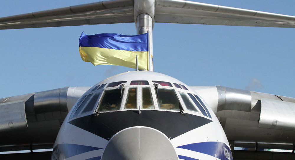 Ukrajinské letadlo