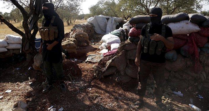 Bojovníci v Sýrii