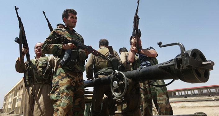 Kurdští vojáci