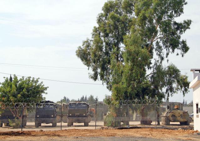 Ruští vojáci na základně Chmejmim v Sýrii.