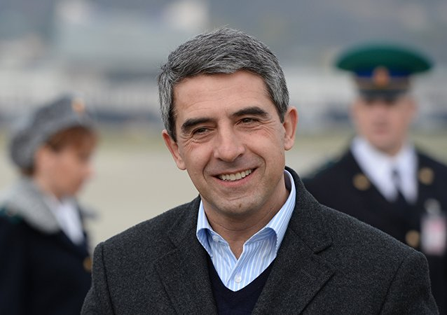 Bulharský prezident Rosen Plevnelijev