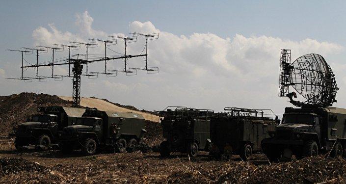 Ruská vojenská technika na základně Hmeimim v Sýrii