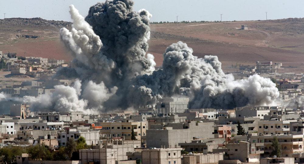 Ostřelování města Kobani