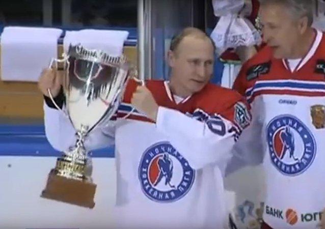 Osm gólů Vladimira Putina