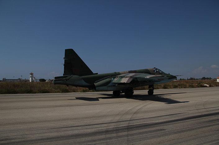 Ruský bombardér v Sýrii