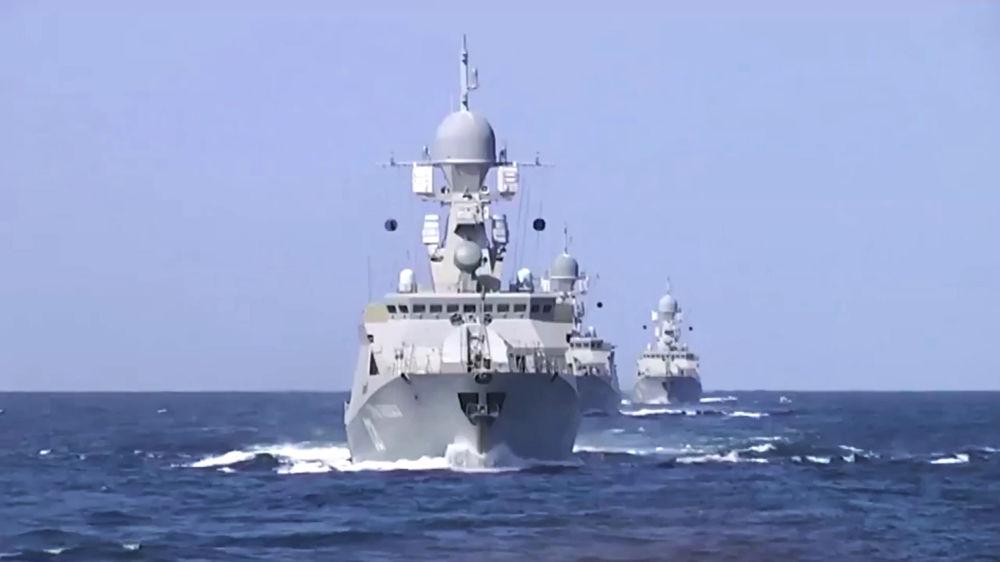 Lodě Kaspické flotily zasadily úder pozicím IS v Sýrii