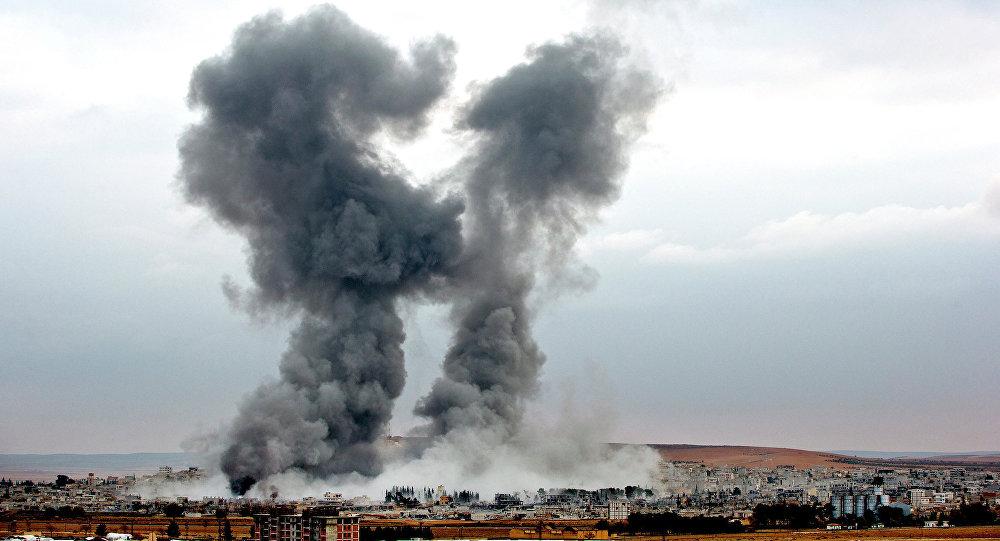 Sýrie, bombardování USA. Ilustrační foto