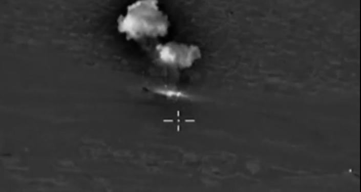 Ruská letadla zasadila úder skladišti paliv a maziv IS