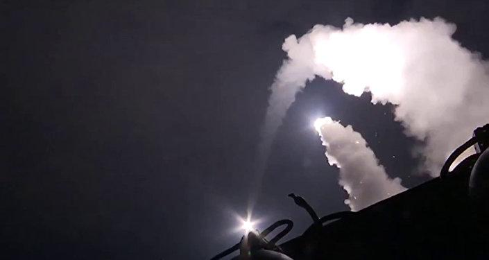 Vojenské námořnictvo naneslo raketový úder proti objektům skupiny Islámský stát