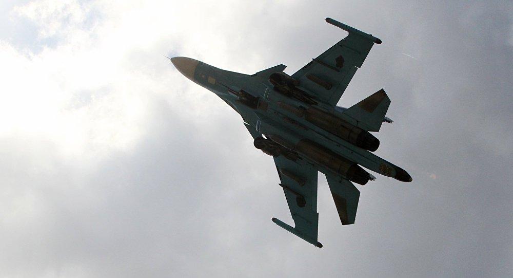Su-34 v Sýrii